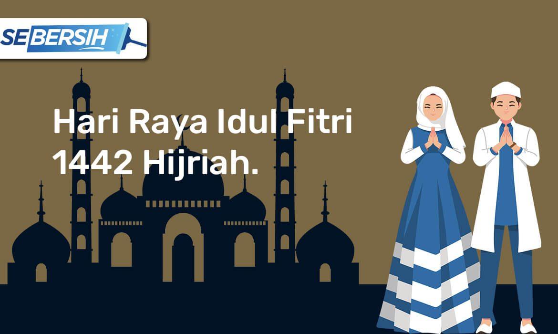 Alhamdulillah, Selamat Hari Raya Idul Fitri Sobat Sebersih